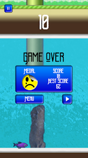 Flushy Fins Screenshot