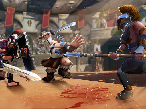 Gladiator Heroes - Strategy and Fighting Game  Screenshots 16