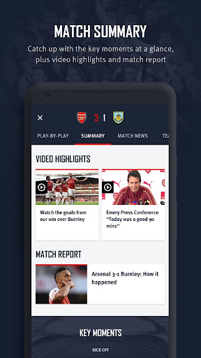 Arsenal Official App 6.0.3 Screenshots 8
