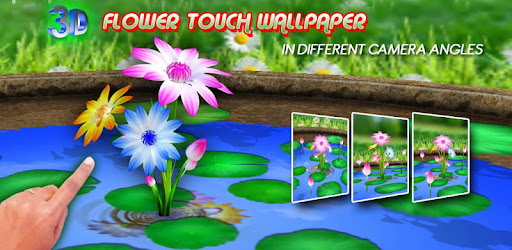 3d Flowers Touch Wallpaper On Windows Pc Download Free 3 6 Bestfreelivewallpapers Flowers 3d Live Wallpaper