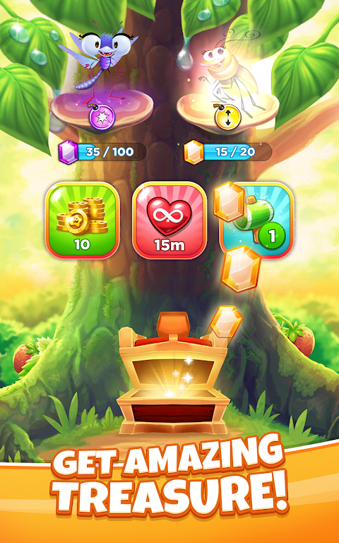 Best Fiends Stars - Free Puzzle Game poster 3