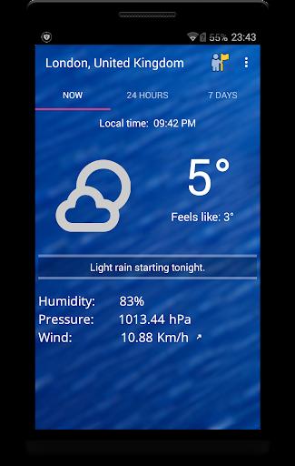 Weekly Weather Forecast 1.9.6 Screenshots 1