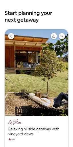 Airbnb app screenshot