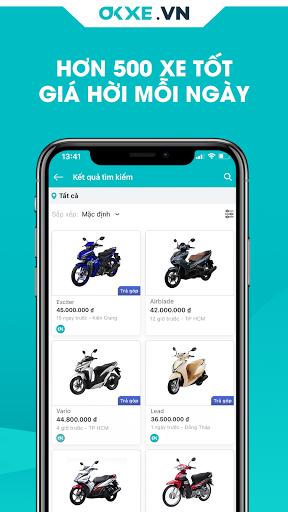 OKXE u2013 Mua bu00e1n xe mu00e1y tru1ef1c tuyu1ebfn android2mod screenshots 4