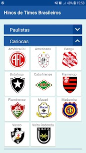 Hinos de Clubes Brasileiros 6.5 APK + MOD (Unlocked) 2