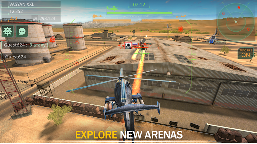 Gunship Force: Free Helicopter Games Attack 3D  screenshots 9