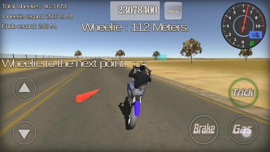 Wheelie King 3D - Realistic free  motorbike racing 1.0 Screenshots 8