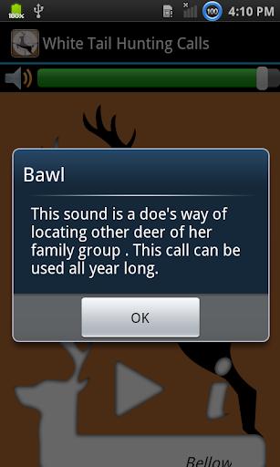 Whitetail Hunting Calls  screenshots 2