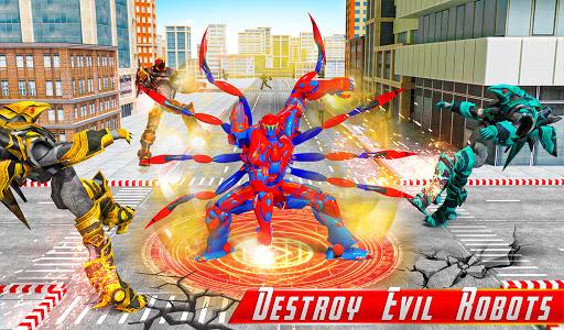 Spider Robot Car Game u2013 Robot Transforming Games android2mod screenshots 5