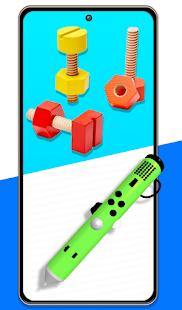 Fidget Cube Pop It 3D Anti stress satisfying Toys 1.1.0 Screenshots 1