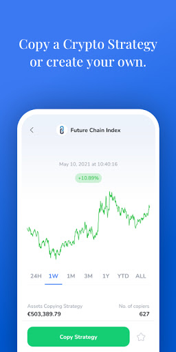ICONOMI: Buy and sell cryptocurrencies screenshot 2