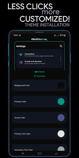 Hex Installer - Themes for OneUI screenshots 4