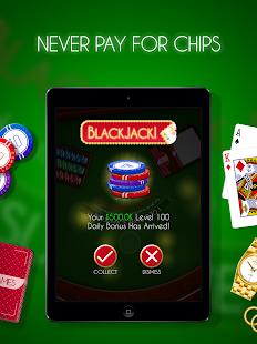 Blackjack! u2660ufe0f Free Black Jack Casino Card Game screenshots 16