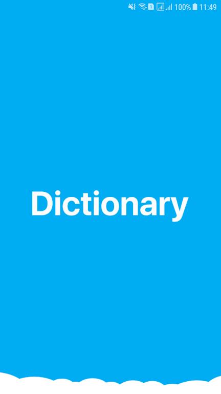 Premium English Dictionary  poster 0