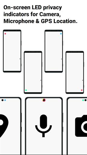 Access Dots - Android 12/iOS 14 privacy indicators  screenshots 2