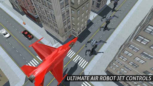 Air Robot Game - Flying Robot Transforming Plane  screenshots 5