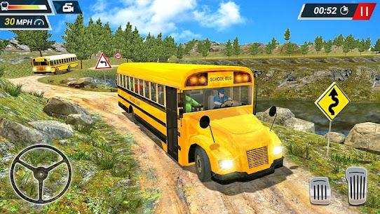 Offroad High School Bus Simulator Free 4