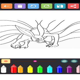 Coloring Ninja Konoha 1.15 screenshots 2