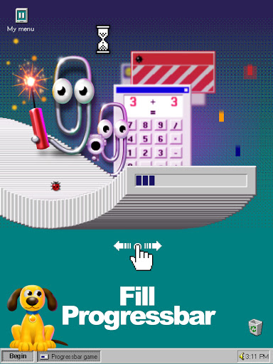 Progressbar95 - easy, nostalgic hyper-casual game Apkfinish screenshots 16