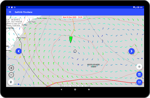 SailGrib for Virtual Regatta  Screenshots 9
