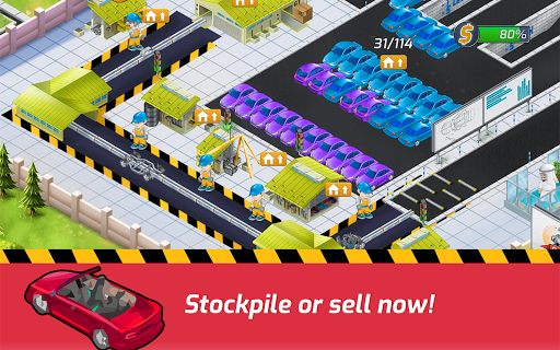Idle Car Factory: Car Builder, Tycoon Games 2020ud83dude93 modavailable screenshots 9