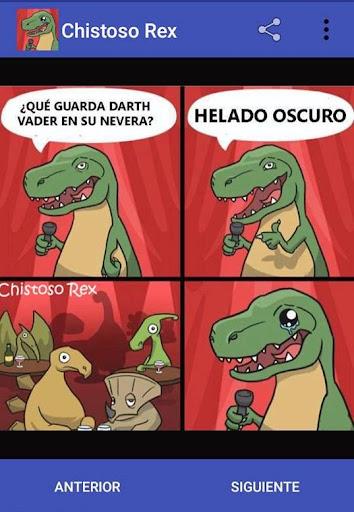 Chistoso Rex Chistes Malos y Divertidos screenshots 2