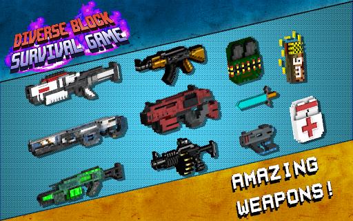 Diverse Block Survival Game  screenshots 2