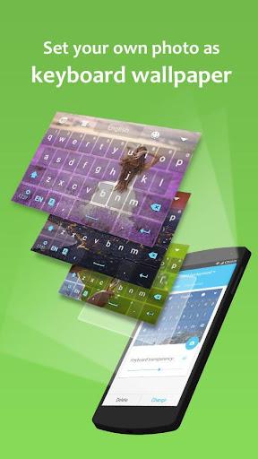 GO Keyboard Lite - Emoji keyboard, Free Theme, GIF 3.23 Screenshots 2