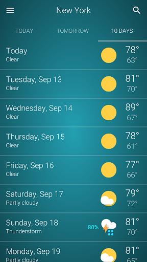 Weather  screenshots 5