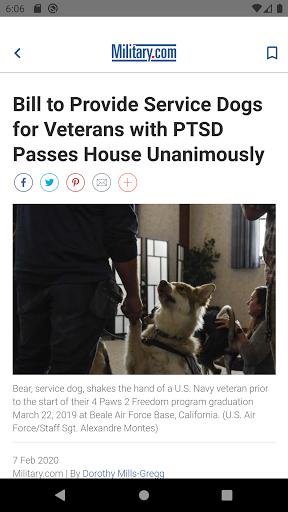Military News by Military.com screenshots apkspray 3
