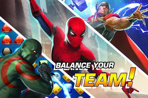 MARVEL Puzzle Quest: Join the Super Hero Battle! screenshots 2