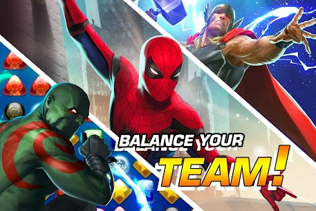 Marvel Puzzle Quest Mod Apk 219.556184[Unlimited Money]Latest Version 3