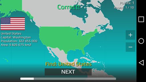 World Map Quiz 2.17 screenshots 15