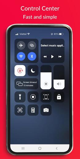 Control Center IOS 14 - Screen Recorder Apkfinish screenshots 1