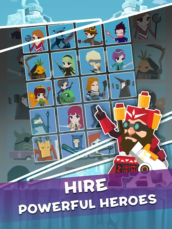 Tap Titans 2: Heroes Attack Titans. Clicker on! poster 11