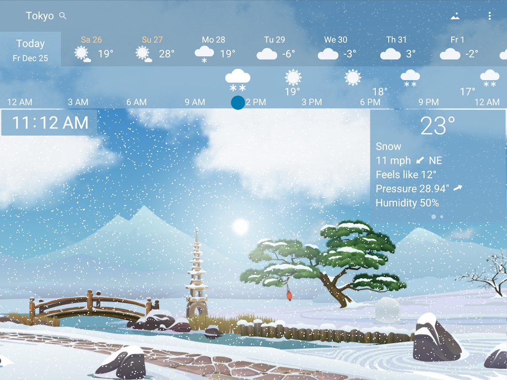 YoWindow Weather - Unlimited poster 12