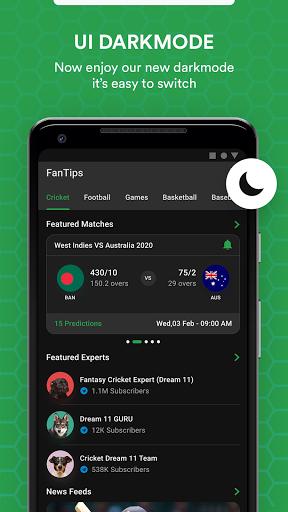 FanTips : Prediction Tips Experts for Dream11  screenshots 6