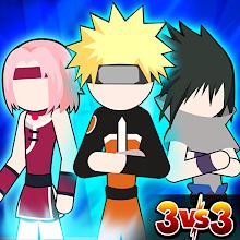 Stickman Ninja - 3v3 Battle Arena Download on Windows