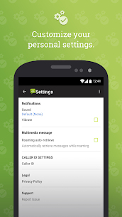 SMS from Android 4.4 with Caller ID 5