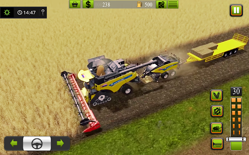 Supreme tractor farming - modern farm games 2021  screenshots 8