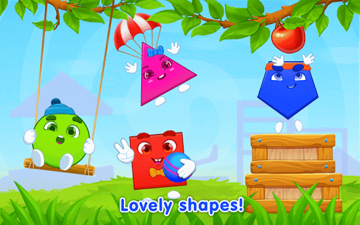 learning shapes: toddler games for 1 - 4 year olds screenshot 1