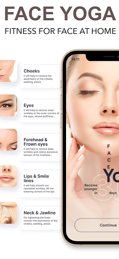 Face Yoga - face exercise for women and skin care  Screenshots 2