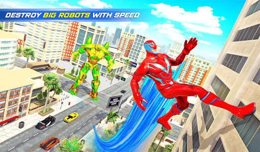 Grand Police Robot Speed Hero City Cop Robot Games modavailable screenshots 15