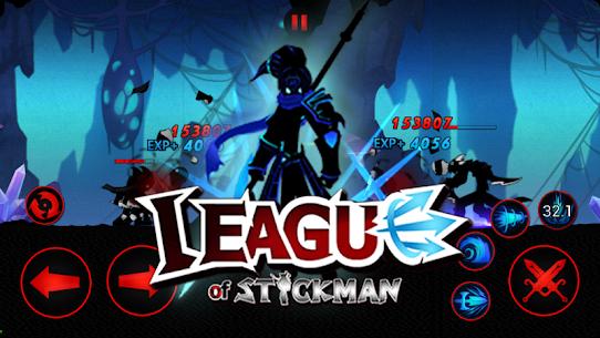 Tải League of Stickman MOD APK 6.1.4 (Mua sắm miễn phí) 5