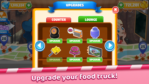 Boston Donut Truck - Fast Food Cooking Game screenshots 3