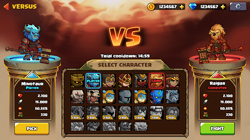 Brawl Fighter - Super Warriors Fighting Game  screenshots 12