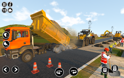 Road Construction Simulator - Road Builder Games  Screenshots 10