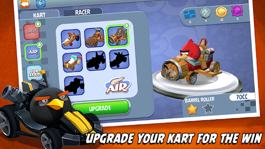 Download Angry Birds Go Mod Apk 2021 [Unlimited Coins/karts/Gems] 5