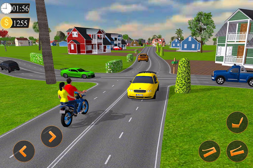 Offroad Bike Taxi Driver: Motorcycle Cab Rider 3.2.1 screenshots 7