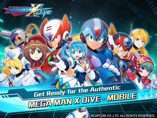 MEGA MAN X DiVE - MOBILE 5.3.1 screenshots 11